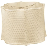 RoyalDesigns Timeless 14'' Silk/Shantung Novelty Lamp Shade