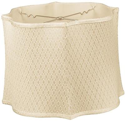 RoyalDesigns Timeless 14'' Silk/Shantung Novelty Lamp Shade