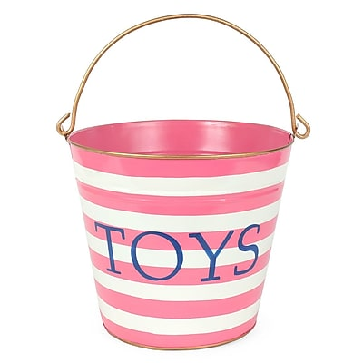 Jayes Horizontal Stripes Toys Pail WYF078279242944