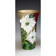 ChristinasHandpainted Hand Painted Glass Vase