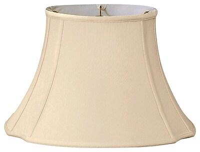 RoyalDesigns Timeless 15'' Silk Bell Lamp Shade