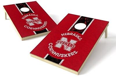 Tailgate Toss NCAA Heritage Cornhole Game Set; Nebraska Cornhuskers