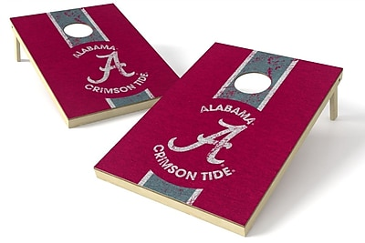Tailgate Toss NCAA Heritage Cornhole Game Set; Alabama Crimson Tide