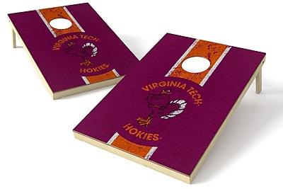 Tailgate Toss NCAA Heritage Cornhole Game Set; Virginia Tech Hokies