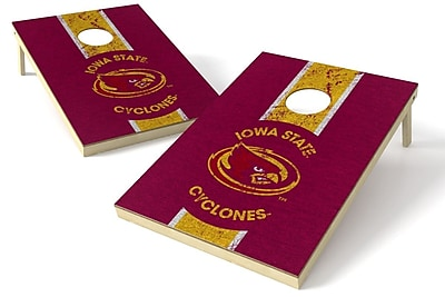 Tailgate Toss NCAA Heritage Cornhole Game Set; Iowa Hawkeyes