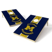 Tailgate Toss NCAA Heritage Cornhole Game Set; Michigan Wolverines