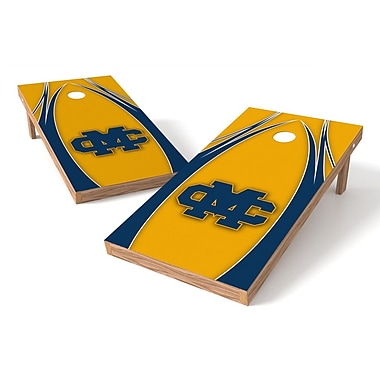 Tailgate Toss NCAA Cornhole Game Set; Mississippi College Choctaws