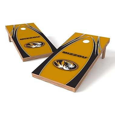 Tailgate Toss NCAA Cornhole Game Set; Missouri Tigers