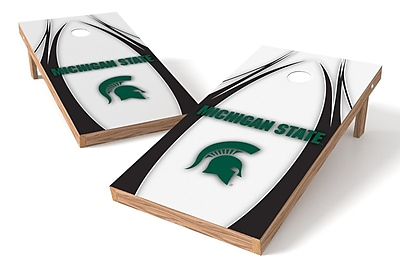Tailgate Toss NCAA Game Cornhole Set; Michigan State Spartans