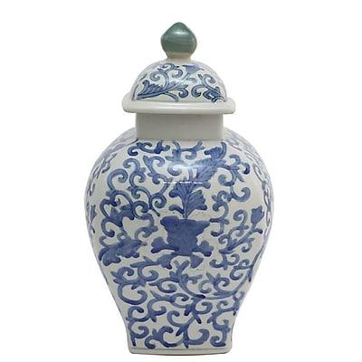 Selectives Mordecai Decorative Ceramic Urn