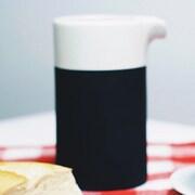 Magisso White Line Naturally Cooling Ceramic 13.53 oz. Carafe