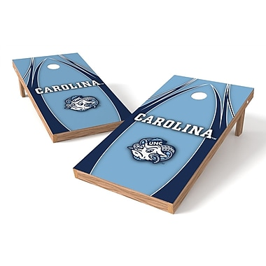 Tailgate Toss NCAA Cornhole Game Set; NC Tar Heels