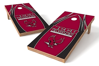 Tailgate Toss NCAA Game Cornhole Set; NCCU Eagels