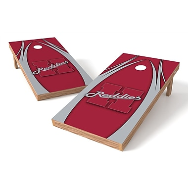 Tailgate Toss NCAA Game Cornhole Set; Henderson Reddies