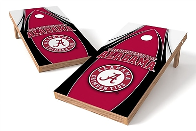 Tailgate Toss NCAA Game Cornhole Set; Alabama Crimson Tide