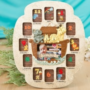 FashionCraft Noah's Ark Baby's First Year Collage Picture Frame