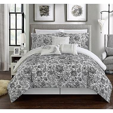 Chic Home Elle Reversible Comforter Set; Queen