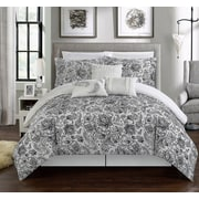 Chic Home Elle 11 Piece Reversible Bed-In-A-Bag Set; Queen