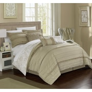 Chic Home Elle 11 Piece Reversible Bed-In-A-Bag Set; King