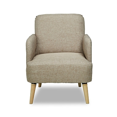 Container Accent Arm Chair; Camel