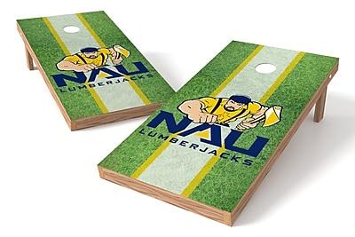 Tailgate Toss NCAA Field Game Cornhole Set; Northern Arizona Lumberjacks