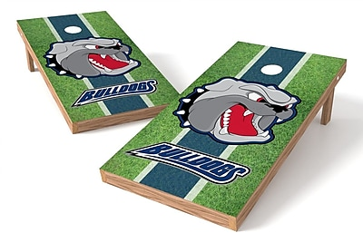 Tailgate Toss NCAA Field Game Cornhole Set; NC Asheville Bulldogs