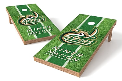 Tailgate Toss NCAA Field Game Cornhole Set; Charlotte 49ers