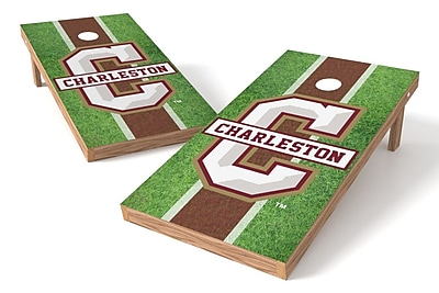 Tailgate Toss NCAA Field Game Cornhole Set; College of Charleston Cougars