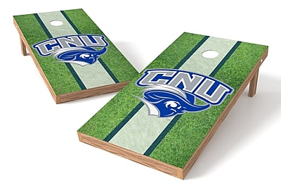 Tailgate Toss NCAA Field Game Cornhole Set; Christopher Newport Captains