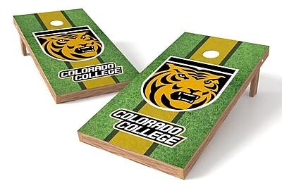 Tailgate Toss NCAA Field Game Cornhole Set; Colorado College Tigers