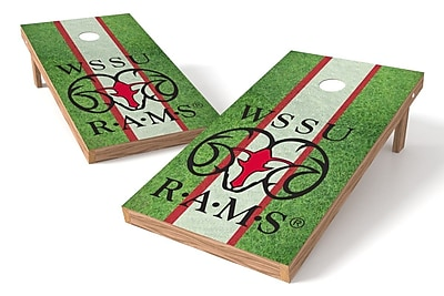 Tailgate Toss NCAA Field Game Cornhole Set; Winston-Salem State Rams
