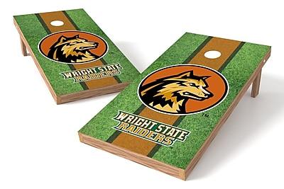Tailgate Toss NCAA Field Game Cornhole Set; Wright State Raiders