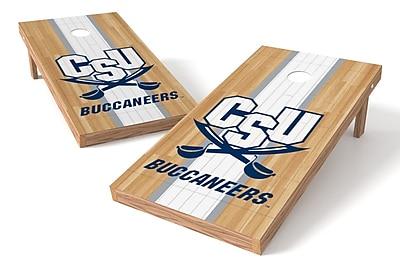 Tailgate Toss NCAA Hardwood Game Cornhole Set; Charleston Southern Buccaneers