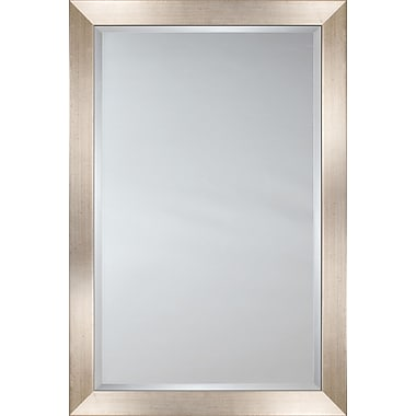 Mirror Image Home Mirror Style 80727 - Silver Face w/ Black Speckles; 33.75 x 43.75
