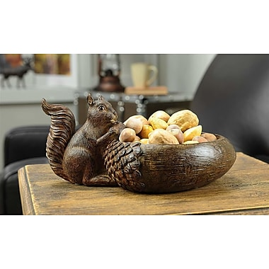 Giftcraft Squirrel Bowl