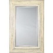 Mirror Image Home Mirror Style 80753 - Whitewash; 48.5 x 68.5