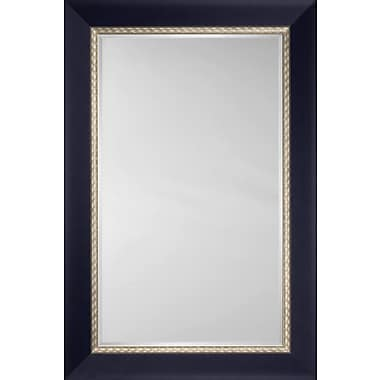 Mirror Image Home Mirror Style 8086 - Royal Blue w/ Champagne Edge (Disney); 30 x 42