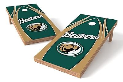 Tailgate Toss NCAA Game Cornhole Set; Bemidji State Beavers