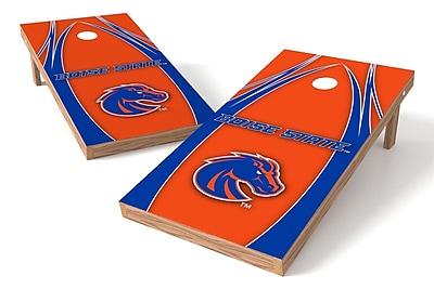 Tailgate Toss NCAA Game Cornhole Set; Boise State Broncos