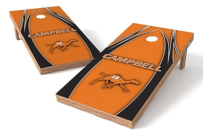 Tailgate Toss NCAA Game Cornhole Set; Campbell Fighting Camels and Lady Camels