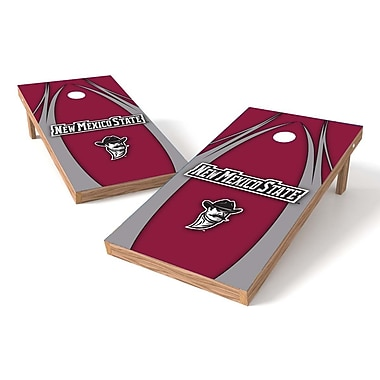 Tailgate Toss NCAA Cornhole Game Set; New Mexico State Aggies