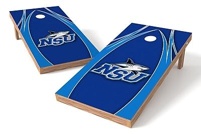 Tailgate Toss NCAA Game Cornhole Set; Nova Southeastern Sharks