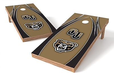 Tailgate Toss NCAA Game Cornhole Set; Oakland Golden Grizzlies
