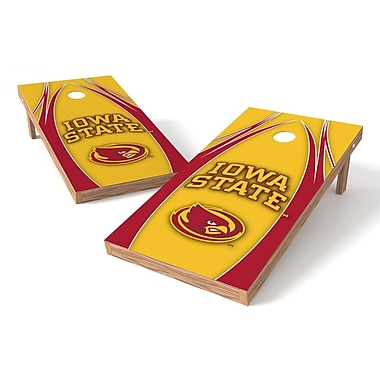 Tailgate Toss NCAA Cornhole Game Set; Iowa State Cyclones
