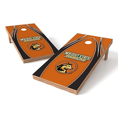 Tailgate Toss NCAA Cornhole Game Set; Wright State Raiders