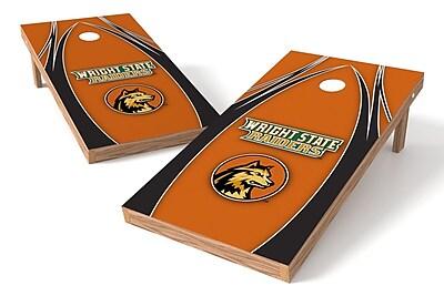 Tailgate Toss NCAA Game Cornhole Set; Wright State Raiders