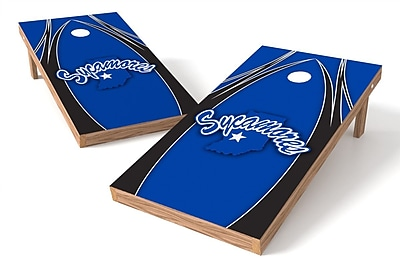 Tailgate Toss NCAA Game Cornhole Set; Indiana State Sycamores