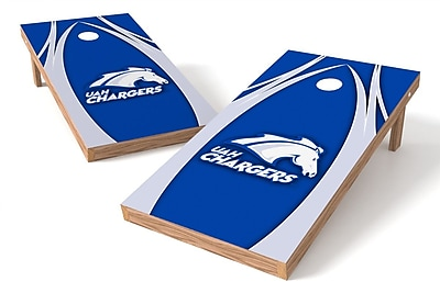 Tailgate Toss NCAA Game Cornhole Set; Alabama Huntsville Chargers