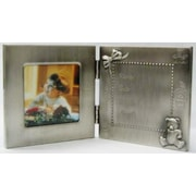 Heim Concept Pewter Birth Record Picture Frame