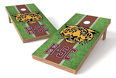 Tailgate Toss NCAA Field Game Cornhole Set; Hampden-Sydney Tigers